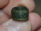 "A nice Roman ""Snake head"" votive bronze ring, found Cambridgeshire. SOLD"